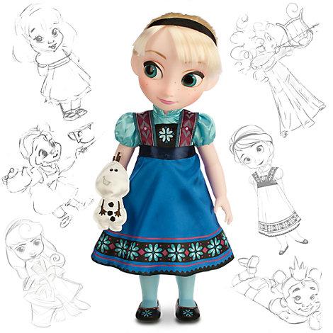 Bambola Elsa di Frozen - Il Regno di Ghiaccio, collezione Animator Dolls