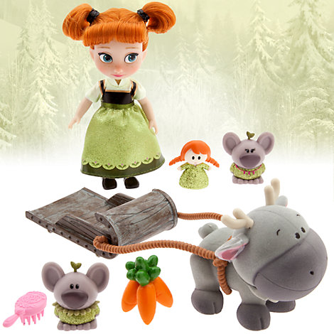 Set da gioco mini Anna serie Animators