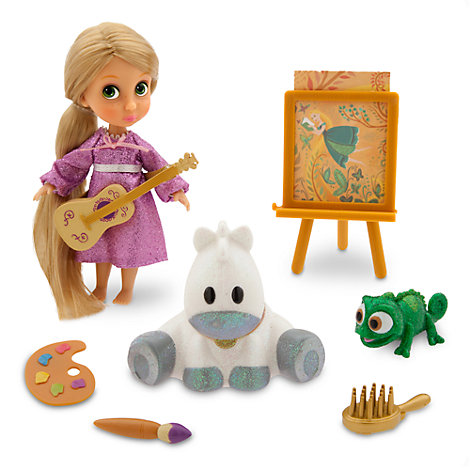 Ensemble mini poupée Animator Raiponce