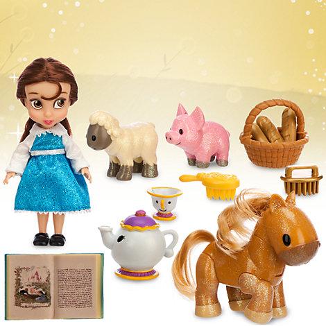 belle mini animator doll playset. Black Bedroom Furniture Sets. Home Design Ideas