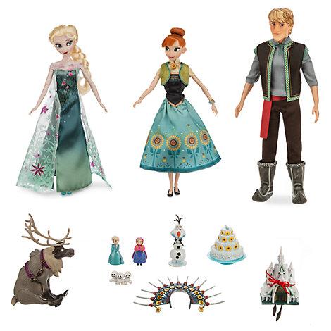 Set bambole Deluxe Frozen Fever