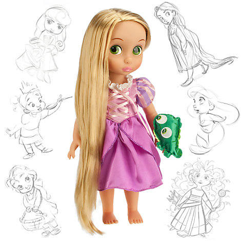 Rapunzel Animator Doll