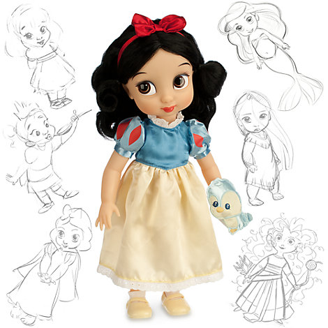 Snehvide Animator dukke