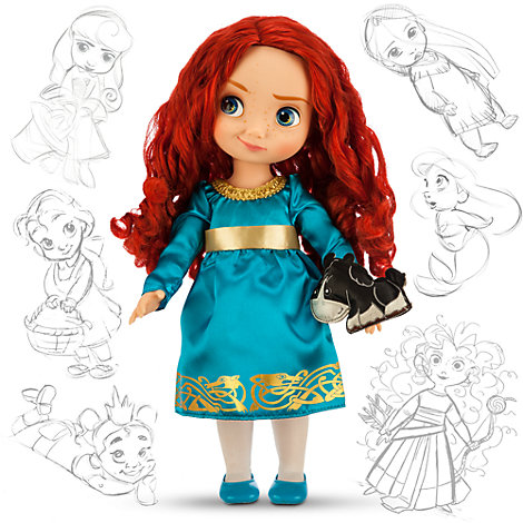 Merida animatordukke