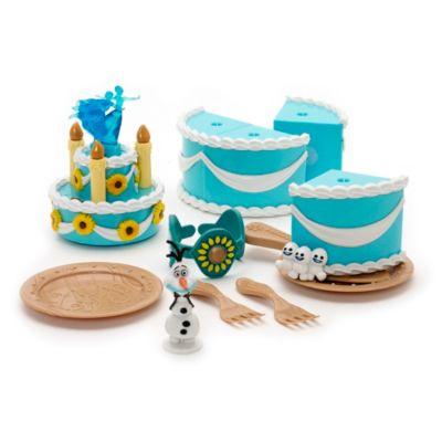 Set da gioco torta di compleanno Anna serie Frozen Fever