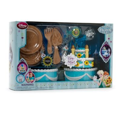 Set de juego tarta cumpleaños Anna Frozen Fever