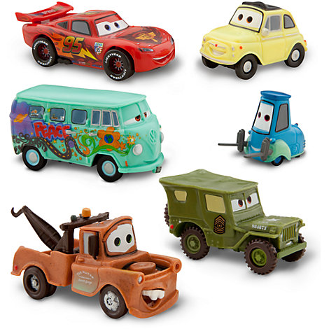 Set de figuras de Disney Pixar Cars