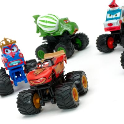 Disney Pixar Cars Monster Truck Deluxe Figurine Set