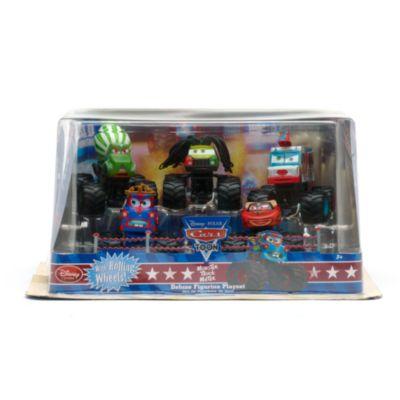 Disney Pixar Cars: set de lujo de vehículos en miniatura Camiones Monstruo