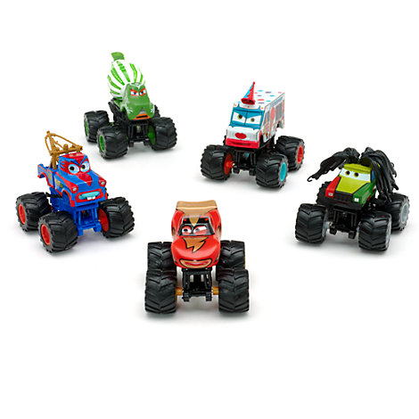 Disney Pixar Cars 2 - Monster Truck Figurenset Deluxe