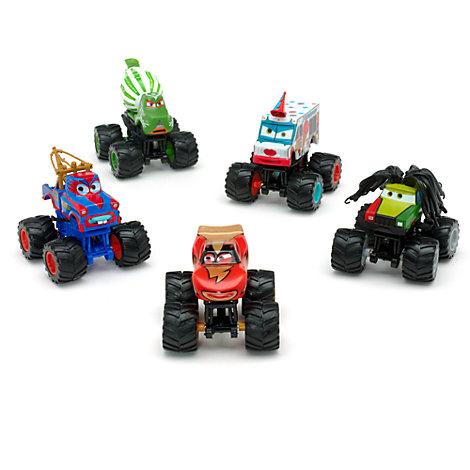 disney pixar cars monster truck deluxe figurine set. Black Bedroom Furniture Sets. Home Design Ideas