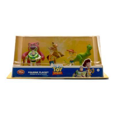 Toy Story set med statyetter
