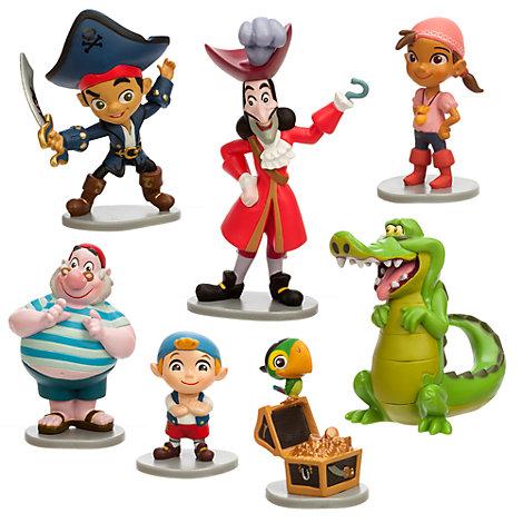 Jake och piraterna från Landet Ingenstans figurer