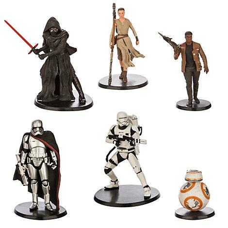 Set da gioco con personaggi di Star Wars: Il Risveglio della Forza