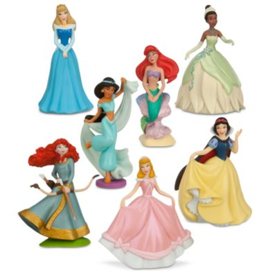 Set de figuritas princesa Disney