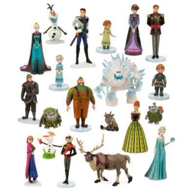 Méga ensemble de figurines La Reine des Neiges