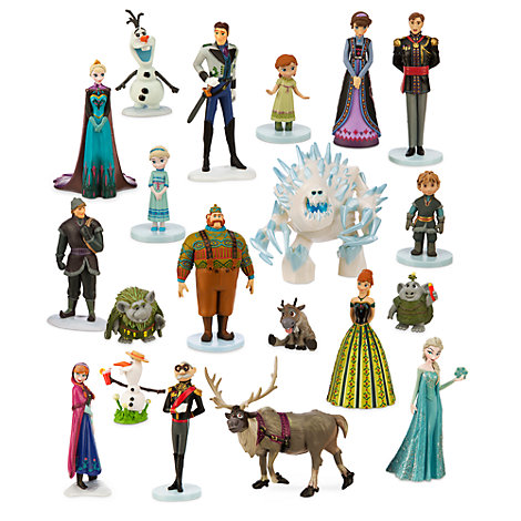 Set da gioco personaggi Deluxe Frozen - Il Regno di Ghiaccio