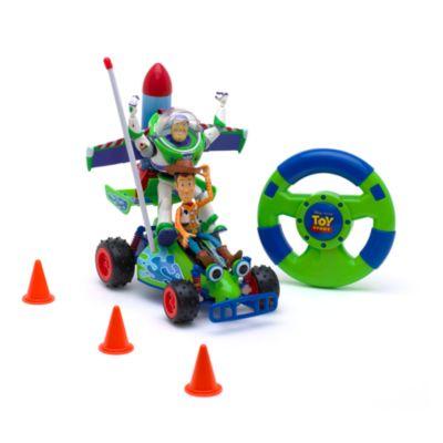 Fjernstyret Toy Story legesæt med Buzz og Woody