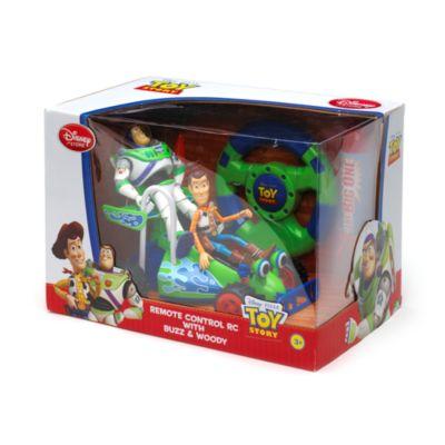 Set da gioco con telecomando Buzz e Woody, Toy Story