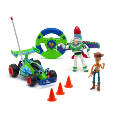 Toy Story Remote Control Toy Set with Buzz and Woody