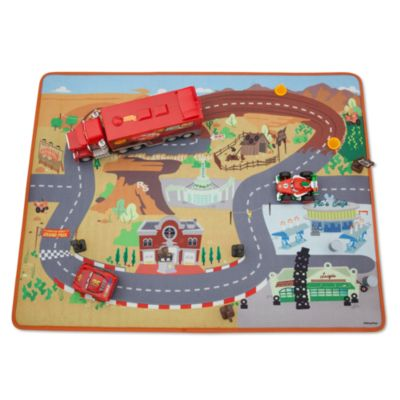 Disney Pixar Cars Playmat and Cars Set
