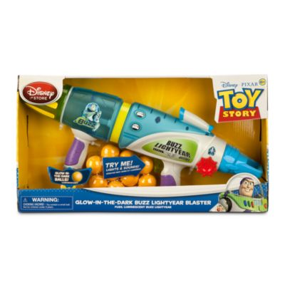 Toy Story Buzz Lightyear självlysande blaster