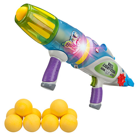 Toy Story, Buzz Lightyear blaster, lyser i moerke