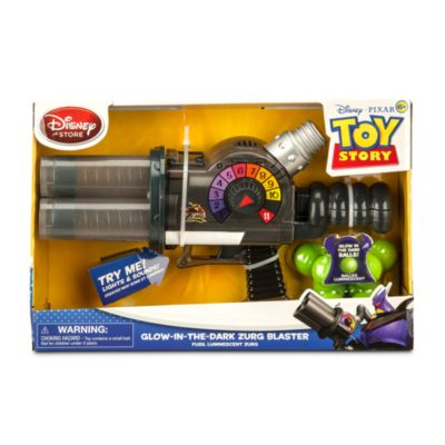 Pistolet à balles phosphorescentes Zurg Toy Story