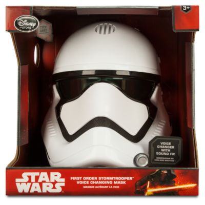 Star Wars - First Order Sturmtruppler Maske mit Stimmveränderungsfunktion