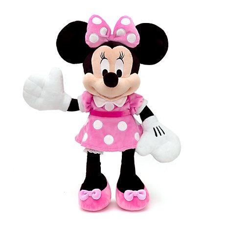 Mellemstort Minnie Mouse plysdyr