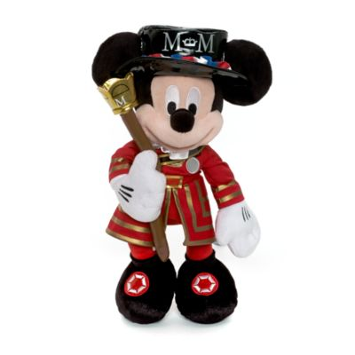 Medium Mickey Beefeater plysdyr