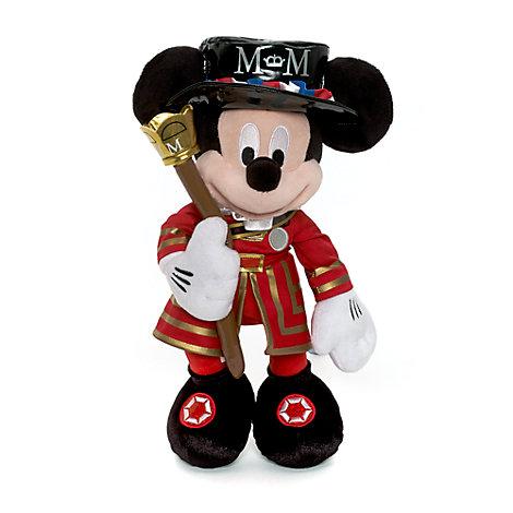 Micky Maus - Kuscheltier in Uniform der königlichen Leibgarde (mittelgroß)