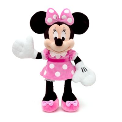 peluche grande minnie. Black Bedroom Furniture Sets. Home Design Ideas