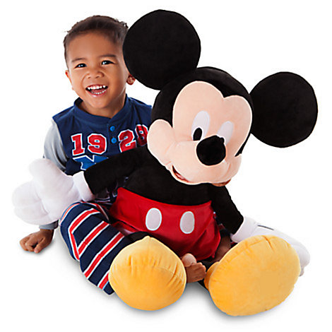 Stort Mickey Mouse plysdyr
