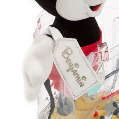 Peluche Mickey Mouse Paris avec sac