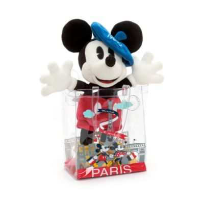 Mickey Mouse Soft Toy In Bag, Paris