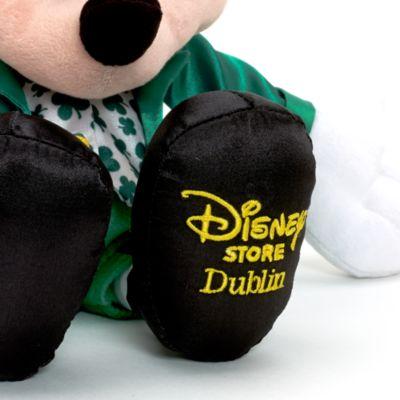 Micky Maus - Kuscheltier im irischen Look