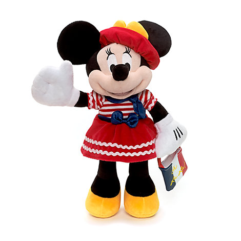 Medium Minnie Mouse plysdyr, Paris