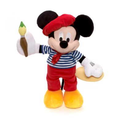 Mickey Mouse Medium Soft Toy, Paris