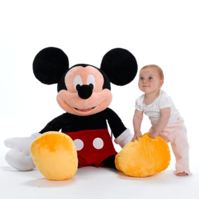 Kæmpe Mickeys klubhus-plysdyr 100 cm