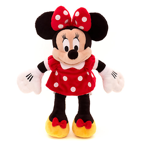 Lille Minnie Mouse plysfigur