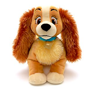 Disney Store Lady Medium Soft Toy