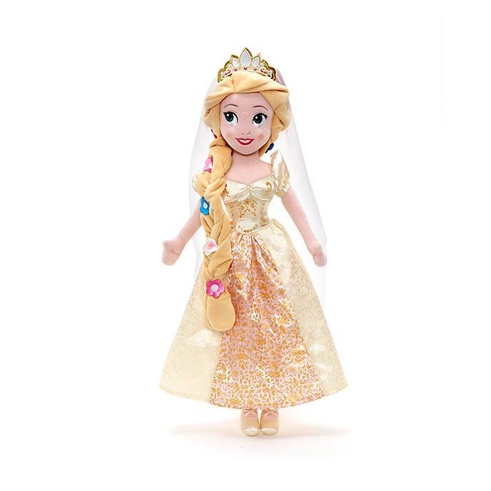 Muñeca de peluche novia Rapunzel