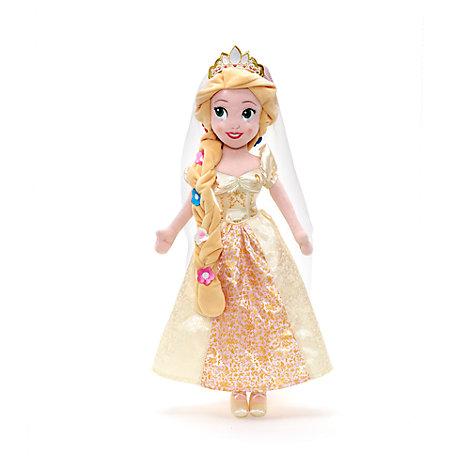 Rapunzel - Stoffpuppe als Braut