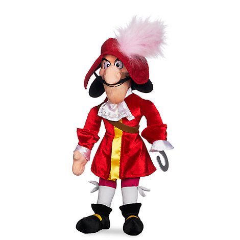 Captain Hook Soft Toy Doll