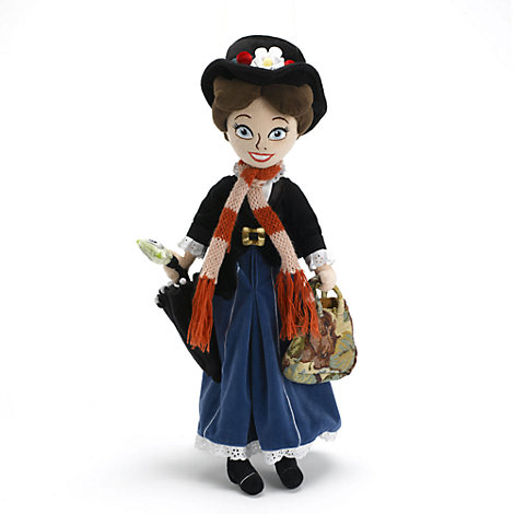 Bambola di peluche Mary Poppins 49 cm