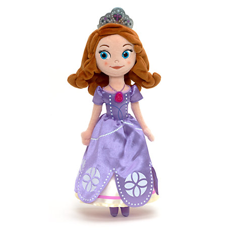 Sofia the First Small Soft Toy Doll