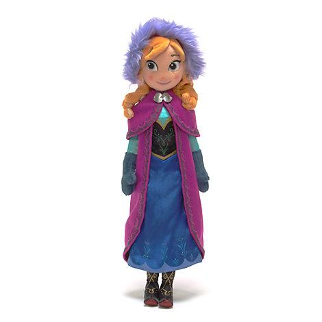 Poupée en peluche Anna de La Reine des Neiges