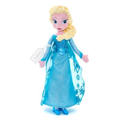 Elsa From Frozen Soft Toy Doll