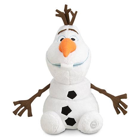 Olaf fra Frost som stort plysdyr
